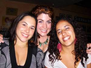 Lindsey, Becca and Vicki in Berkeley