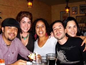 Palhaço, Becca, Vicki, Penguino and Andorinha